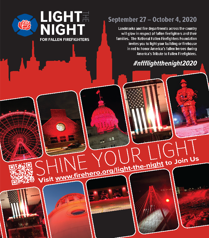 Light the Night for Fallen Firefighters