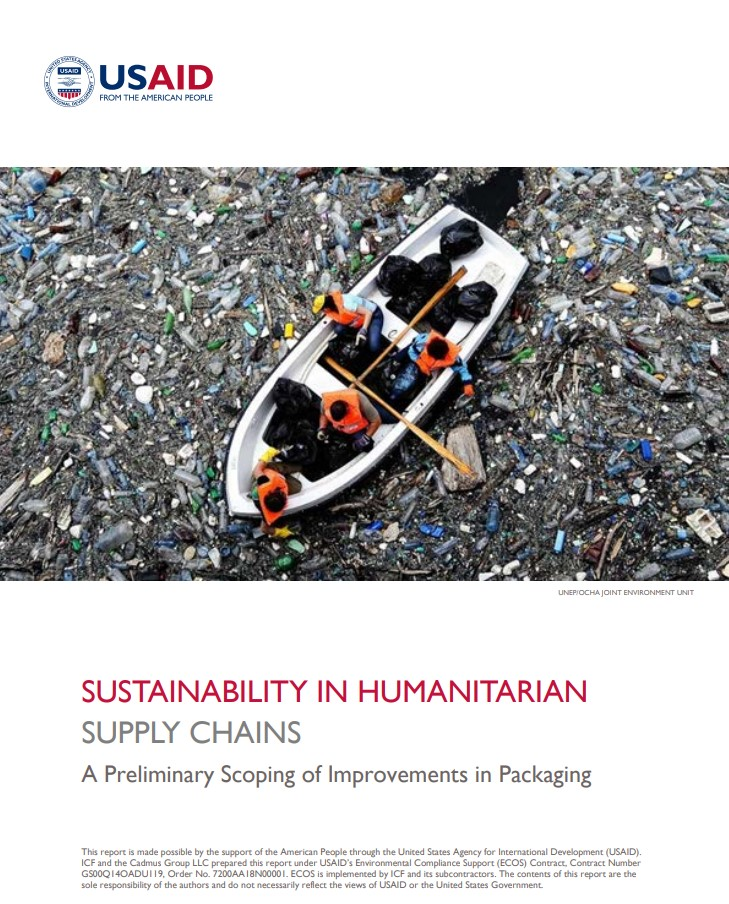 Sustainability in Humanitarian Supply Chains