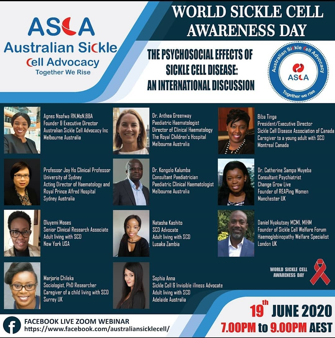 OSCAR Sandwell World Sickle Cell Day Event