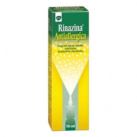 Glaxo Rinazina Antiallergica Spray Nasale per Rinite 10ml