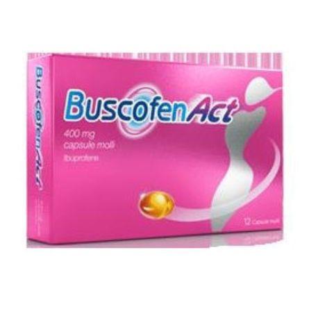 Buscofenact 12 Capsule 400 mg farmacoanalgesico