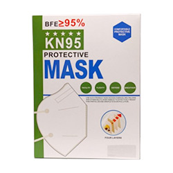 Mascherina protettiva contro virus e batteri KN95 2 pezzi