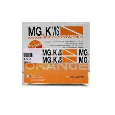 Mgk vis orange 15 + 15 bustine integratore di sali minerali