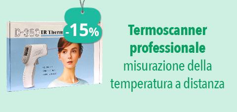 -15% Thermoscanner professionale misurazione della temperatura a distanza