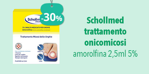 Schollmed trattamento onicomicosi 2,5 ml 5%
