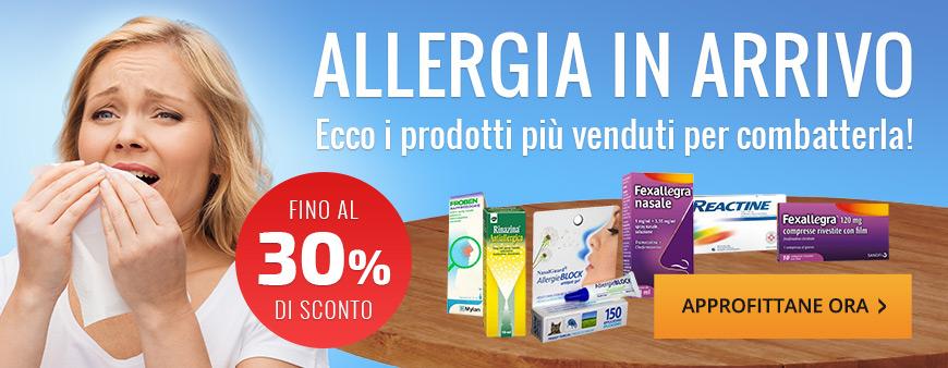Allergia in arrivo: ecco i prodotti più venduti per combatterla!