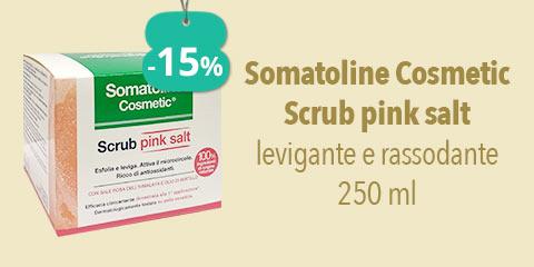 Somatoline Cosmetic Scrub pink salt levigante e rassodante 250 ml