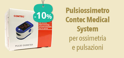 Contec Medical System Pulsiossimetro per ossimetria e pulsazioni