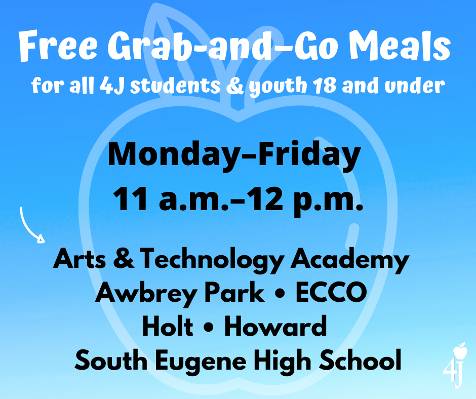 Free grab-and-go meals