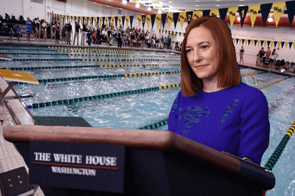 White House Press Secretary a Former Swimmer