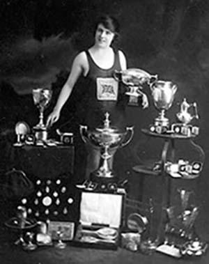 Hilda James, ISHOF Honor Pioneer Swimmer
