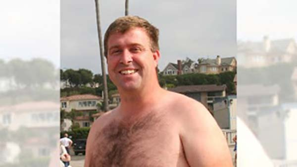 Chad Hundeby, long distance swimmer