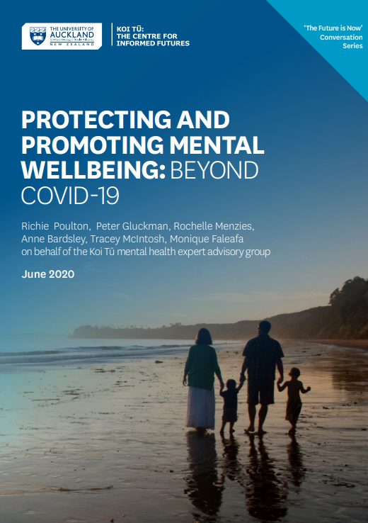 Cover of Protecting and Promoting Mental Wellbeing report