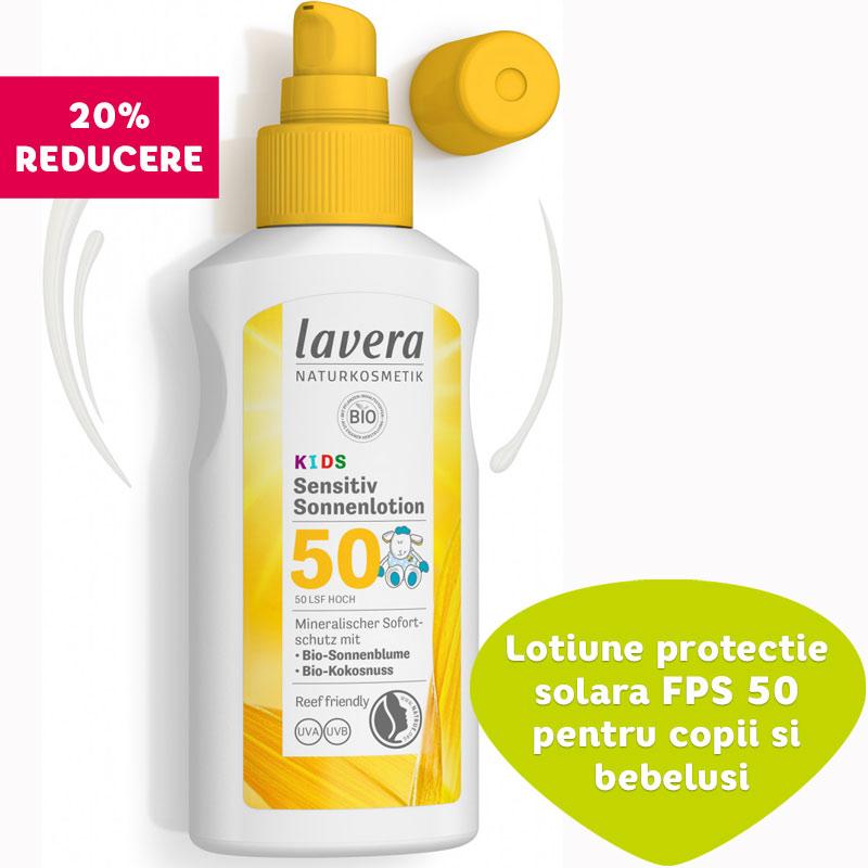 Lotiune protectie solara FPS 50 pentru copii si bebelusi