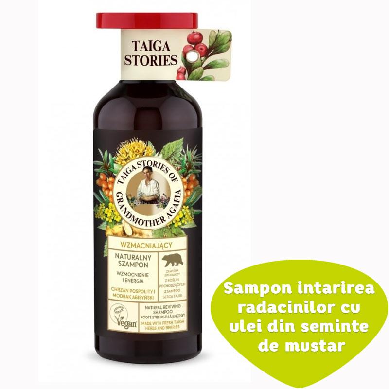 Sampon pentru intarirea radacinilor cu ulei din seminte de mustar