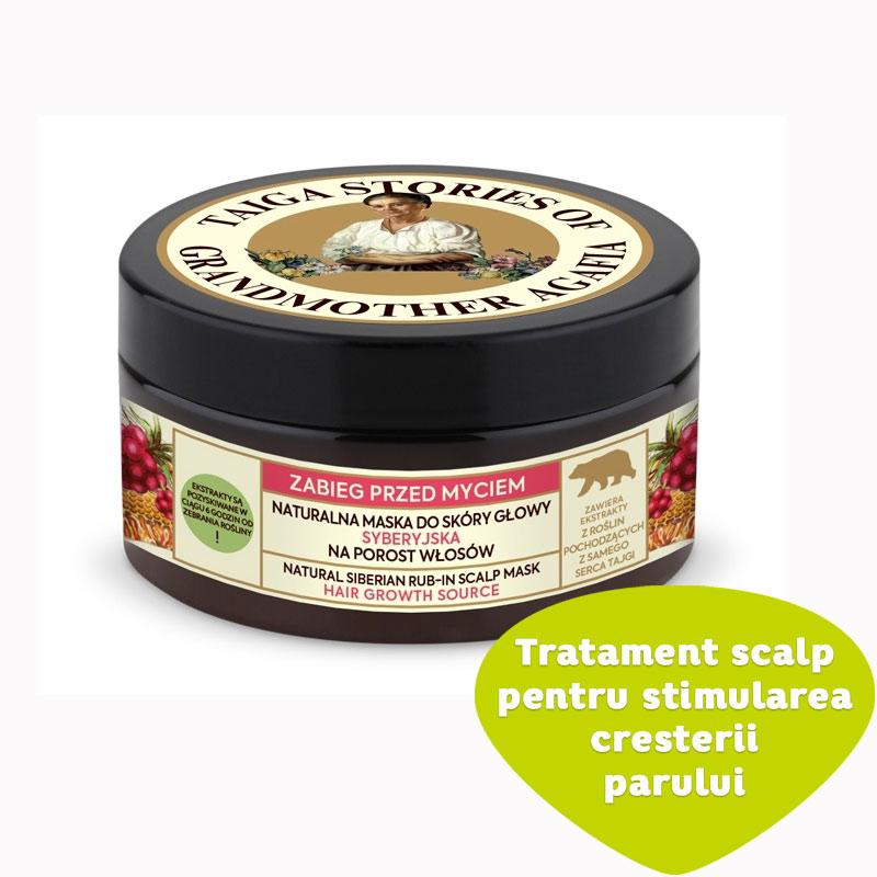 Tratament scalp pentru stimularea cresterii parului Siberian