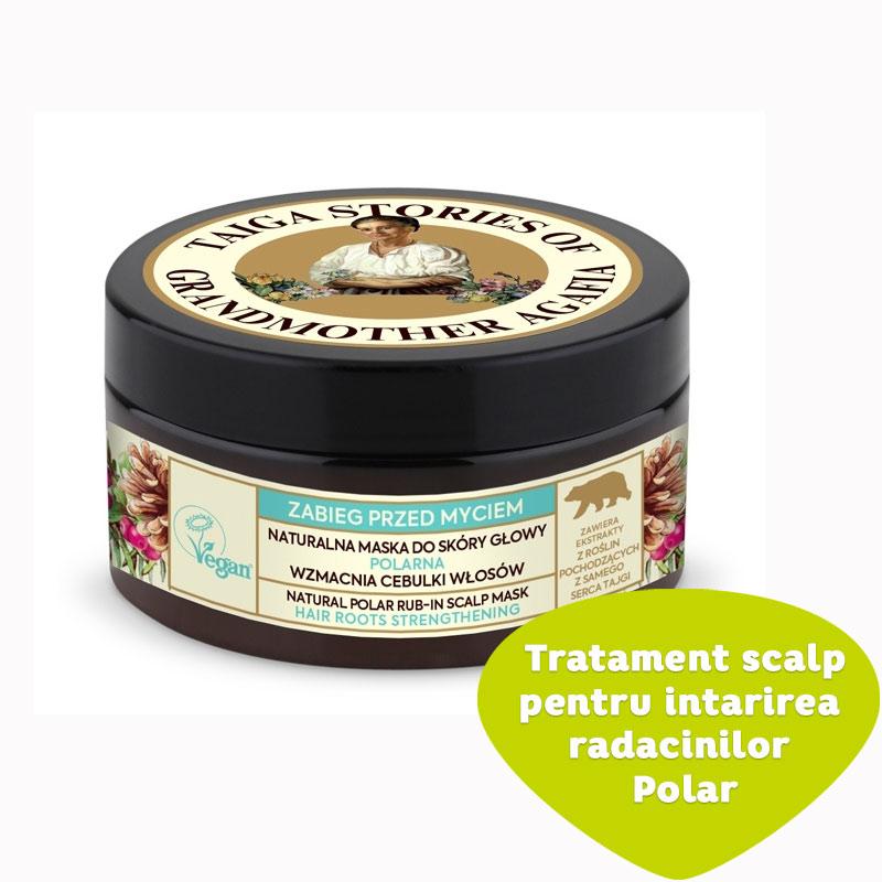 Tratament scalp pentru intarirea radacinilor Pola