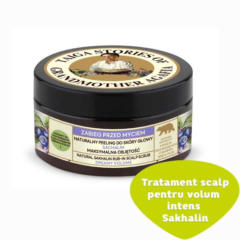 Tratament scalp pentru volum intens Sakhalin