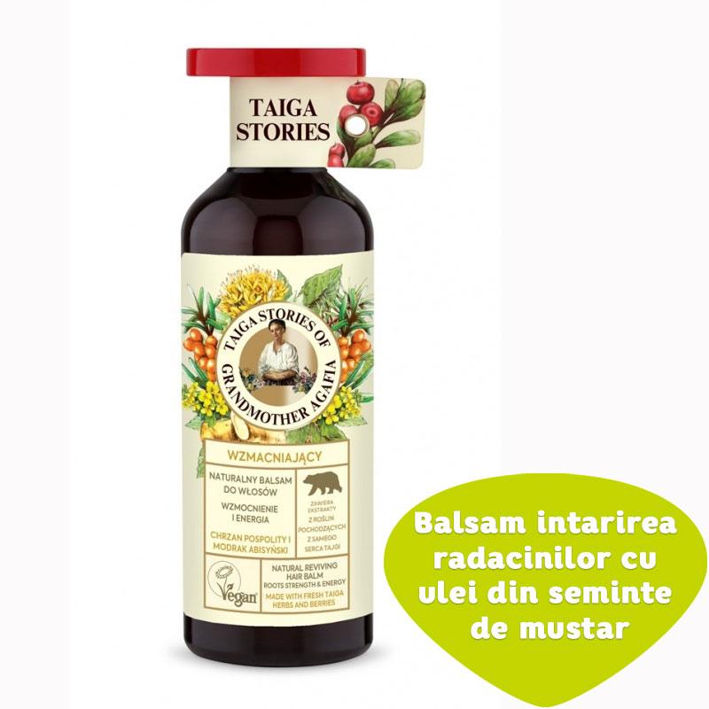 Balsam pentru intarirea radacinilor cu ulei din seminte de mustar
