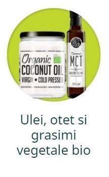 Ulei, otet si grasimi vegetale bio