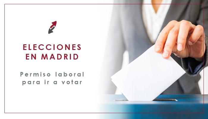 Permiso para ir a votar en las Elecciones Madrid CECA MAGAN