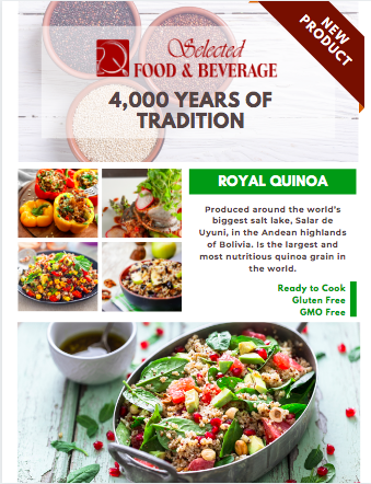 Quinoa Royal from Bolivia by Selected Food