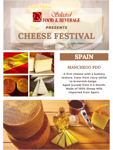Cheese Festival by Selected Food