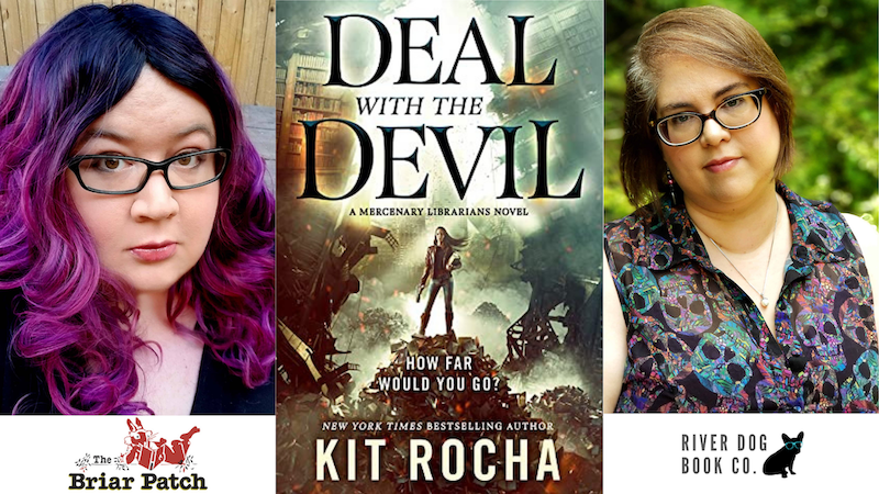 Kit Rocha Virtual Author Event