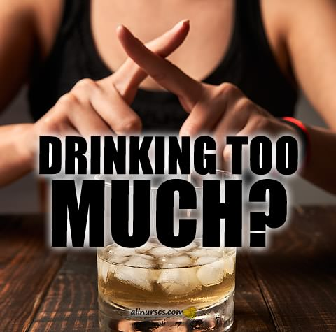 Drinking too much?