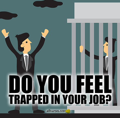 Do you feel trapped in your job?