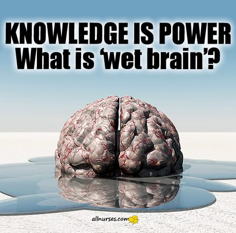 Knowledge Is power: What is 'wet brain'?