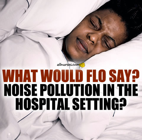 What would Flo say? Noise Pollution In The Hospital Setting
