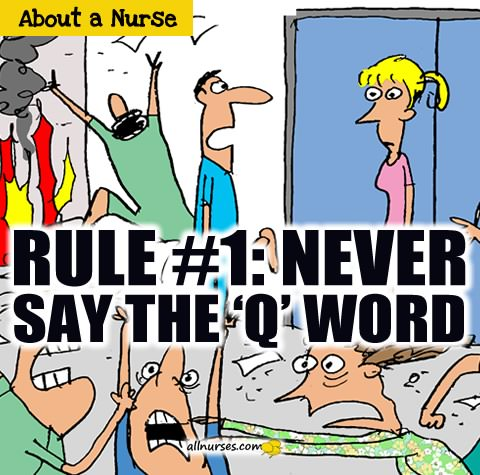 Never say the 'q' word