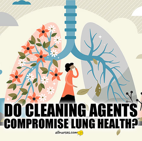 Do cleaning agents compromise lung health?