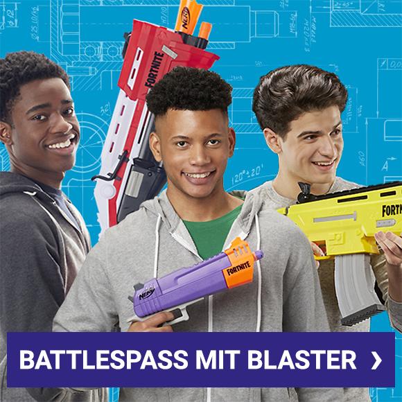 Battlespaß mit Blaster