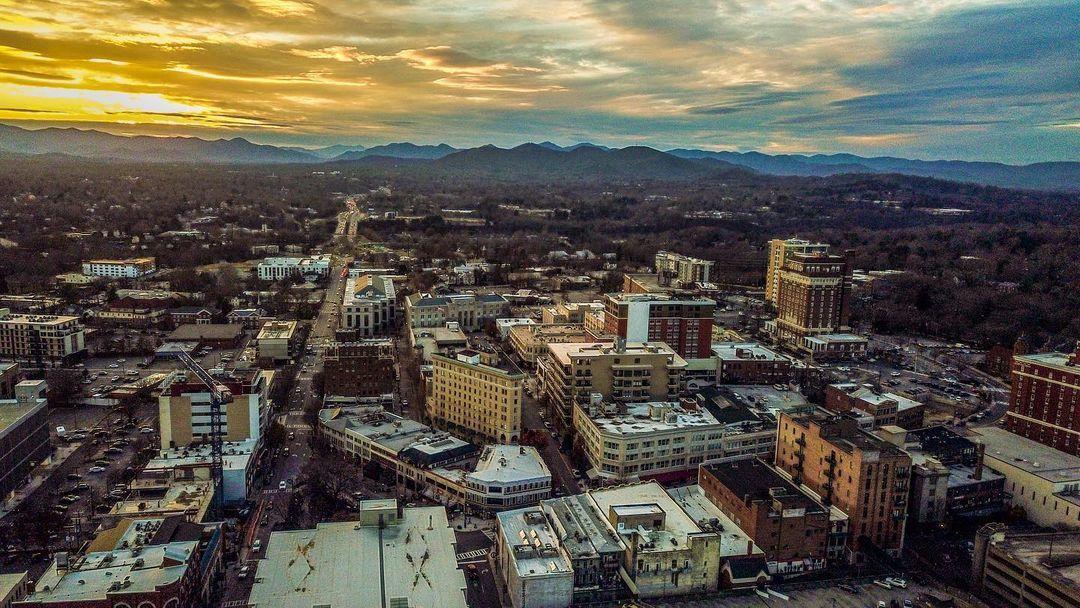 downtown_asheville_drone_shot