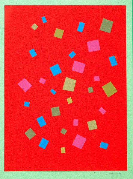 John-Urbain-red-painting-abstract
