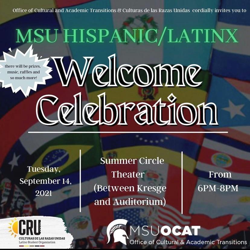 MSU Hispanic/Latinx Welcome Celebration