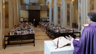 Церковь всех святых в Ватерлоо в период карантина