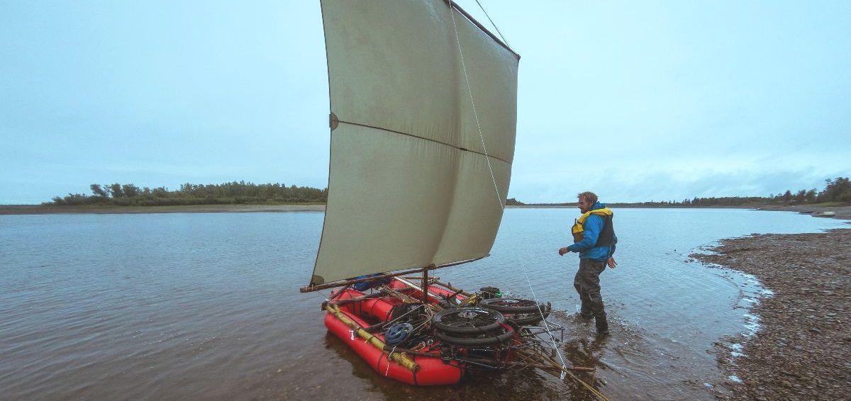 Bike-Raft-Sailing
