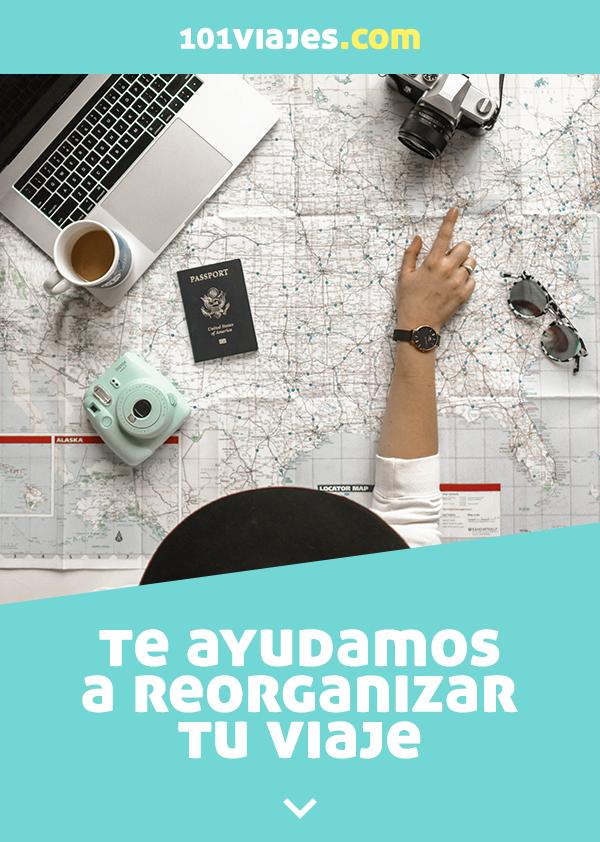Te ayudamos a reorganizar tu viaje