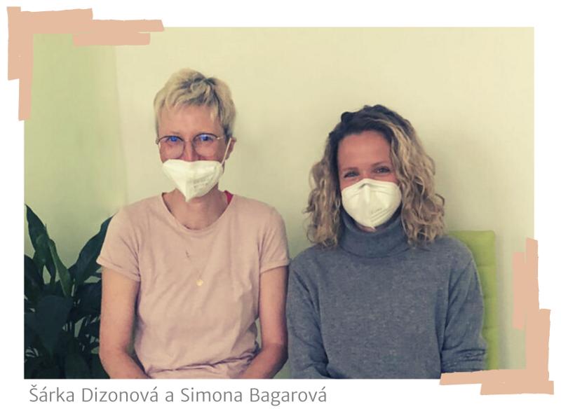 Šárka Dizonová a Simona Bagarová