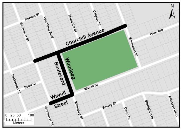 Churchill-Winnipeg Construction Map