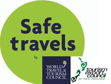 Safe Travels TEC Covid Ready Badge
