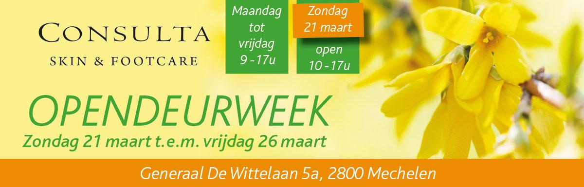 Opendeurweek Consulta