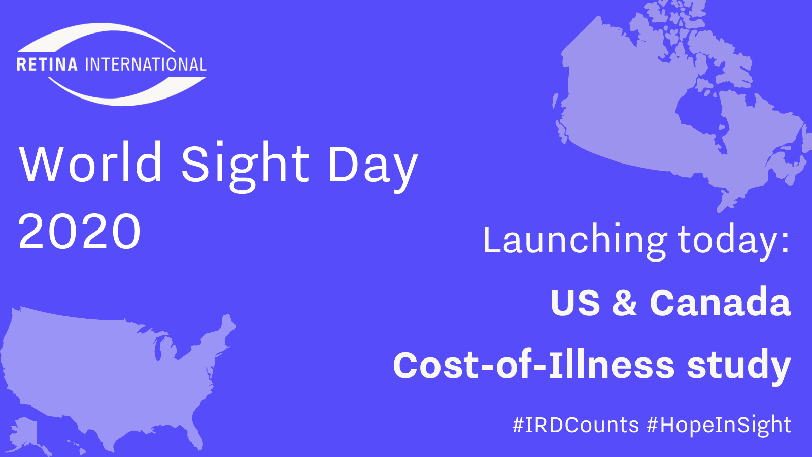 Flyer: World Sight Day. Cost of Illness Study launch