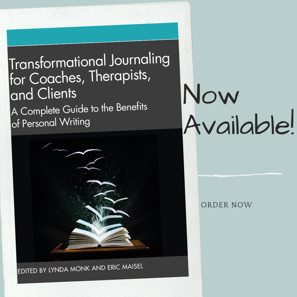 Book cover of Transformational Journaling for Coaches, Therapists, and Clients