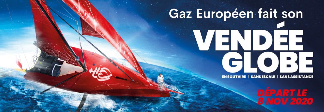 Gaz Européen fait son Vendée Globe
