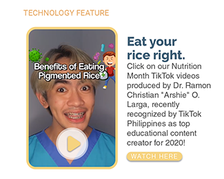 Eat your rice right