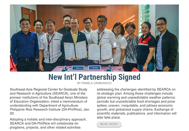 new intl partnership signed